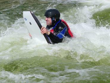 River Boogieboarding